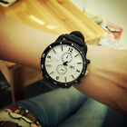 Womens Mens Lover's Fashion Watch Big Dial Silicone Quartz Wristwatch NEW