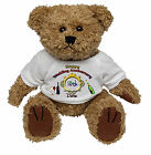 PERSONALISED SPECIAL OCCASION TEDDY BEAR GIFT - WEDDING ANNIVERSARY DATE DESIGN