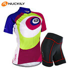 Cycling Bike Short Sleeve Clothing Women's Bicycle Wear Suit Jersey Shorts S-XL