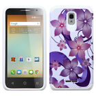 For Alcatel OneTouch Elevate HARD Hybrid Rubber Silicone Case Phone Cover