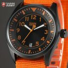 Official Shark Army Men Date Military Outdoor Quartz Nylon Sport Wrist Watch