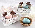 The Nest Egg Pink Or Blue Egg Shaped Soap Baby Shower Favors