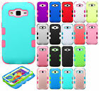 For Samsung Galaxy Core Prime IMPACT TUFF HYBRID Protector Case Skin Cover