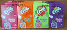 12 Crush Singles to go! Drink Mix *UPick* Grape Orange Strawberry Cherry Limeade
