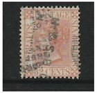 Malaya Straits Settlements - 1867/72, 32c Pale Red - Used - SG 18