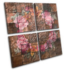 Home Natural Floral  Vintage CANVAS WALL ART Picture Print VA