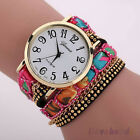 Womens Fabric Bracelet Wristwatch Watches Brand Geneva Long Chain Watch NEW