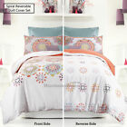 Reversible Quilt Cover Set SPIRAL Fireworks Apartmento SINGLE DOULE QUEEN KING