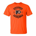 Philadelphia Flyers NHL Vintage Collection Executed Play Mens Orange T-Shirt