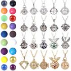 Harmony Ball Cage Silver Pendant Angel Caller Sounds Chime Necklace