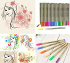 0.3mm FINECOLOUR EF300 Sketch Fine Liner Pen Water Based Painting 16/24/48 Color