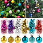 3/4/5CM Christmas Xmas Tree Ball Bauble Hanging Party Ornament Decoration DIY