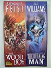 THE WOOD BOY THE BURNING MAN GRAPHIC COMIC NOVEL FEIST WILLIAMS