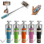 Mini Extendable Handheld Wired Phone Selfie Stick Monopod For Android iPhone