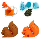 Chic Squirrel Tea Infuser Leaf Strainer Herbal Spice Silicone Filter Diffuser