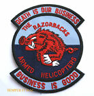 US ARMY 120TH ASSAULT HELICOPTER COMPANY RAZORBACKS PATCH DEATH IS OUR BUSINESS