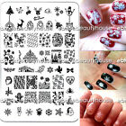 New Design Christmas DIY Nail Art Image Stamping Plates Manicure Template