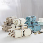 White Blue Camel Towel Set Fast Drying Travel Camping Sport Bath/Hand Towel New