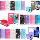 VARIOUS PU LEATHER MAGNETIC FLIP WALLET CASE COVER FOR SAMSUNG PHONES + STYLUS