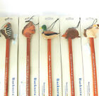 BACK SCRATCHER HANDMADE IN WOOD, HAND PAINTED. HEDGEHOG, SQUIRREL etc FAIR TRADE