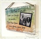 Best Friends Personalised YOUR OWN PHOTO Gift Plaque Friendship Sign Keepsake Z3