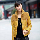 Women Outwear Winter Warm Zip Up Padded Thicken Parka Down Jacket Coat M-XXL