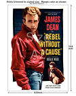 James Dean Rebel Without a Cause Film Movie Poster [6 sizes matte+glossy avail]