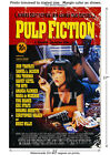 Uma Thurman Pulp Fiction Vintage Film Movie Poster [6 sizes, matte+glossy avail]