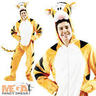 Deluxe Tigger Disney Fancy Dress Adult Mens Costume NEW