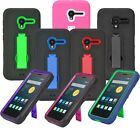 """For Alcatel OneTouch Pixi 3 4.5"""" 4027 Impact Heavy Duty Stand Hybrid Cover Case"""