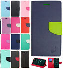 For LG V10 Leather 2 Tone Wallet Case Pouch Flip Phone Cover +Screen Protector