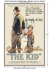 Charlie Chaplin - The Kid #1 - Movie Film Poster [6 sizes, matte+glossy avail]