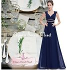 ATHENA Navy Blue Gold Beaded Grecian Evening Cruise Bridesmaid Dress UK 8 - 20