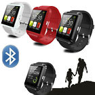 Black Smart Watch Phone Mate U8 Bluetooth For universal Android cell Phone Hot