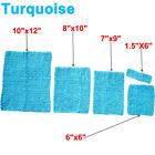 Turquoise Crochet Tutu Top Waffle Stretch Hairband Tube Kids to Adults- 5 Sizes