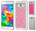 For Samsung Galaxy Grand Prime Diamond Desire Back BLING Hard Case Phone Cover