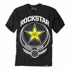 NEW FACTORY EFFEX FX IMPERIAL ROCKSTAR TEE T-SHIRT BLACK ALL SIZES