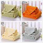 New 5 Colors Bamboo Towel Set Fast Drying Travel Camping Bath Hand Towel Set