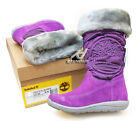 TIMEBERLAND 32996 junior Hollyberry Tall Pull On Boot WINTER SNOW