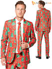 Mens Christmas Tree Suitmeister Suit Xmas Novelty Festive Fancy Dress Adults
