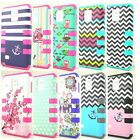 For Samsung Galaxy Note 3 III N9000 Hybrid Rugged Impact Hard Rubber Case Cover