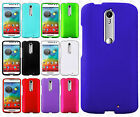 For Motorola Droid Turbo 2 Rubberized Hard Protector Case Cover +Screen Guard
