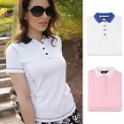 CLEARANCE!! Ladies Glenmuir Lexi Performance Womens Converstitch Golf Polo Shirt