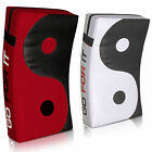 Sporteq Ying Yang Thai Kick Pad Boxing Strike Curved Arm MMA Muay Focus Pads