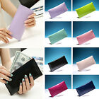 Chic New Women Fashion Leather Wallet Button Clutch Purse Lady Long Handbag Bag