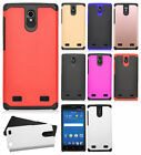For AT&T ZTE ZMAX 2 Z958 HARD Astronoot Hybrid Rubber Silicone Case Phone Cover