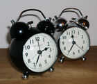 Traditional Double Bell Loud Retro Alarm Clock Light Vintage Twin Bell Bedside