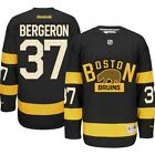 Patrice Bergeron BOYS Boston Bruins Reebok Premier Alternate Jersey