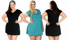 Women's Sexy Comfortable Plus Size Ruffle Dress Short Dresses