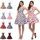 ROCKABILLY Patterns Vintage 50's HOUSEWIFE Evening Party Pinup Swing Tea Dresses